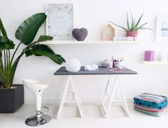 My work space in the loft Decor, Space, Loft, Furniture, Home Decor