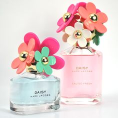 Brand new from Marc Jacobs: Daisy Delight and Daisy Eau So Fresh, sunshine fragrances for summer.