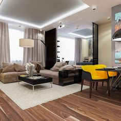 Contemporary Apartment by Interierium