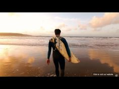▶ Winter surfing in Pembrokeshire - searching for waves since 1961 - YouTube
