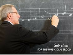 Sub Plans for the Music Classroom: Blog post about how to create a sub tub for your music room!