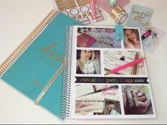 (Mini) Erin Condren monthly Planner Review in Deutsch: Back to school / Studium - YouTube   Erin Condren Lifeplanner Review 2017/2018 🎀 www.all-my-pretty-things.com 🎀