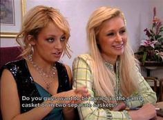t Paris Hilton and Nicole Richie said on 'The Simple Life' photos) – theBERRY Paris Hilton Quotes, Famous Celebrities, Celebs, Paris And Nicole, Simple Life Quotes, Paris Pictures, Legally Blonde, Nicole Richie, Mean Girls
