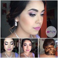 💋Make up & hairStyle.  #yuka_make_up  Realiza tu cita de belleza📱6699415513