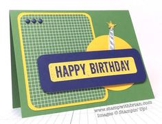 Occasions 4 You, Big News, Stampin' Up!, Brian King, PP214