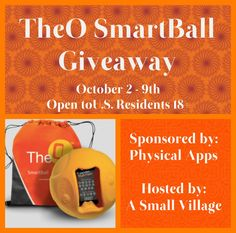 Here We Go Again, Ready?: TheO SmartBall #Giveaway
