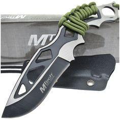 MTech MT-20-20C Two-Tone Fixed Blade Knife w/ Cord Wrapped Handle   MooseCreekGear.com   Outdoor Gear — Worldwide Delivery!   Pocket Knives - Fixed Blade Knives - Folding Knives - Survival Gear - Tactical Gear