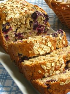 Blueberry Walnut Bread