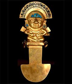 Tumi,ceremonial knife  Lambayaque culture