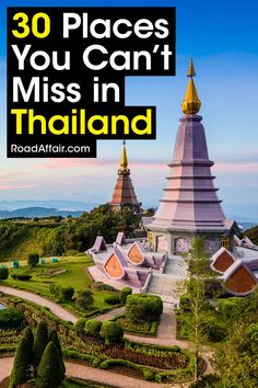 Discover the best places to visit in Thailand. Don't miss out and find the best things to see and do in Thailand in this comprehensive travel guide.