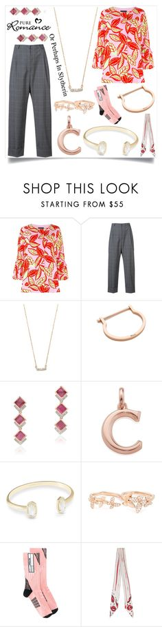 """""""Self confidence is the best outfit"""" by emmamegan-5678 ❤ liked on Polyvore featuring Boutique Moschino, Hebe Studio, Adina Reyter, MIANSAI, Monica Vinader, Kendra Scott, Anyallerie, Prada, Rockins and modern"""