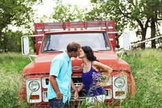 Country Style Engagement Pictures