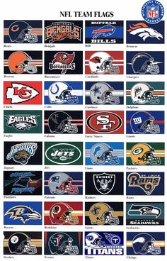 All NFL Teams reminds me of my dad he loved football But Football, Football Team Logos, Football Memes, Football Season, Football Nails, Football Gloves, Football Baby, Football Shirts, College Football