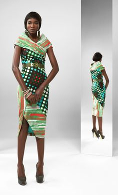 From the archive: a party look from Vlisco's 2013 'Unseen' collection | women fashion
