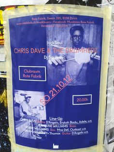 Chris Dave/DJ Soulsonic  Fabrik