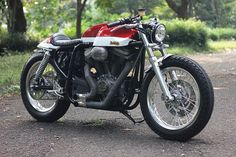 Custom Buell Cafe Racer by Studio Motor » The Patriot | Bikers Cafe