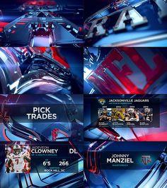 NFL NETWORK - NFL DRAFT 2014 - STATE DESIGN
