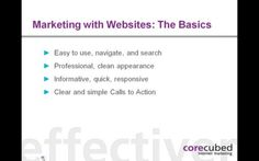 Marketing with Websites: Using a Website for Uber Marketing and More