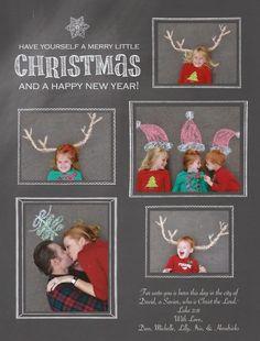 Chalk family Christmas card 2014