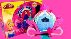 Đồ Chơi Đất Nặn Play Doh Magical Carriage Cinderella Princess