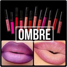 Would you like your lips to be beautiful, hydrated and full of colors? Nu Skin, Lip Tips, Ombre Lips, Lip Colour, Beauty Magazine, Lip Plumper, Metallic Colors, Smudging, The Balm