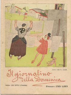 IL GIORNALINO DELLA DOMENICA ANNO VIII N° XXIV ANNO 1920
