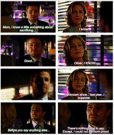 Arrow - Oliver & Moira #2.20 #Season2