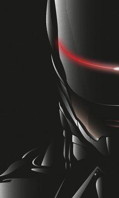 Robocop 2014 by Guillaume Heiligenstein, via Behance