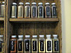 Spice Bottle Labels 2