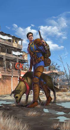 Fallout4 Fallout Lore, Fallout Fan Art, Fallout Concept Art, Fallout Rpg, Apocalypse World, Apocalypse Art, Fallout 4 Secrets, Fallout Wallpaper, Fallout Cosplay