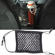 Cheap car truck storage, Buy Quality truck storage directly from China seat net Suppliers: Tirol Unusual Universal Nylon Car Truck Storage Luggage Hooks Hanging Organizer Holder Seat Bag Net Mesh Storage Bags For Clothes, Purse Storage, Truck Storage, Vacuum Storage Bags, Interior Accessories, Car Accessories, Nylons, Back Bag, Mesh Netting
