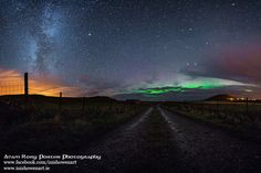 Northern Lights in the sky above Donegal -Adam Rory Porter