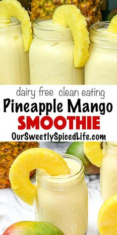 Mango Piña Colada Smoothie- You are in the right place about Food Recipes Here we offer you the most beautiful pictures about the Food Recipes for kids you are looking for. When you examine the Mango Piña Colada Smoothie- part of the picture you can … Smoothie Bowl Vegan, Smoothies Vegan, Smoothie Fruit, Breakfast Smoothie Recipes, Smoothies For Kids, Easy Smoothie Recipes, Easy Smoothies, Mango Pineapple Smoothie, Mango Smoothie Healthy