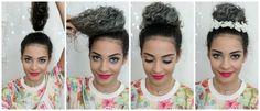 penteados+cabelos+cacheados+coque