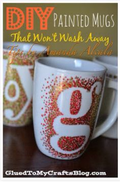 DIY Sharpie Mugs That Last Longer! #tipit