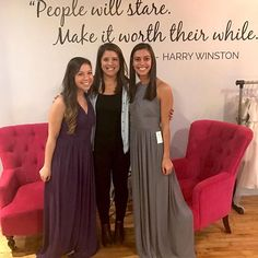 Loved having this fun trio into our showroom over the weekend. We're constantly reminded how lucky we are to work with such amazing brides and bridesmaids!💗So happy you found your dresses @atillar90!! #squadgoals #brideside #sayyestothedress #bridesmaiddresses #love #friends #squad [@brideside_devin]
