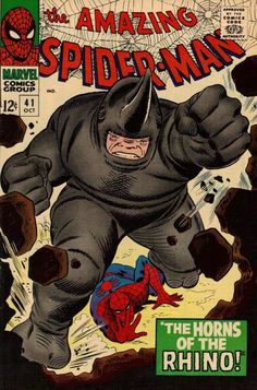 Amazing Spider-Man #41, First Appearance of Rhino, Art: Romita