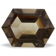 Smokey Quartz Faceted Gemstone 9 carats   DGDesigns - Jewelry Supplies on ArtFire