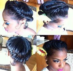 Cute summer hairstyle for the beach