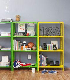 shelving (tart up bunnings shelves) seen in realliving magazines
