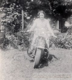 Harley Davidson –found photo via ebay