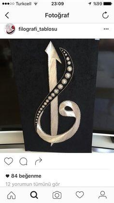 String Art, Islamic Art, Art Decor, Mandala, Dots, Symbols, Letters, Muhammad, Stone