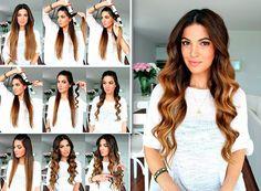 Frisuren für lockiges Haar zum Nachmachen -