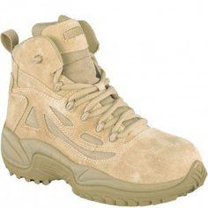 00ec2ea198dab2 RB8694 Reebok Men s Stealth Safety Boots - Desert Tan www.bootbay.com