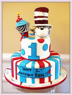 IM Dr. Suess cake (3) by IM GOURMET, via Flickr