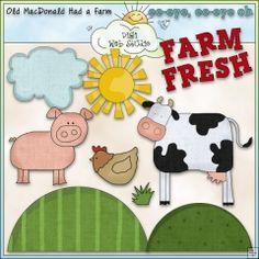 Old MacDonald's Farm 1 - NE Cheryl Seslar Clip Art