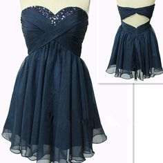 Homecoming Dress,Homecoming Dress,Cute Homecoming Dress,Navy Blue Homecoming Dress,Short