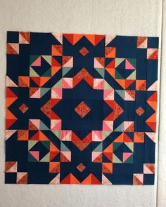 Finally caught up with June round. Patchwork Quilt, Star Quilts, Scrappy Quilts, Mini Quilts, Half Square Triangle Quilts, Square Quilt, Quilting Projects, Quilting Designs, Scandinavian Quilts