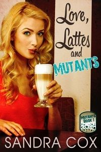 A new series with some interesting twists  Love, Lattes and Mutants by Sandra Cox   http://iam-indeed.com/love-lattes-and-mutants-mutants-1-by-sandra-cox/