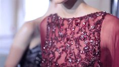 Elie Saab fall 2013 couture backstage